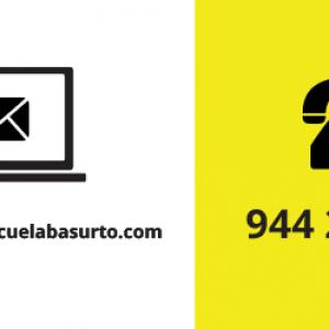 email y telefono