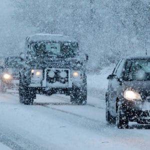 como conducir en la nieve