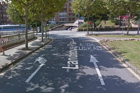 Examen de conducir en avenida Euskadi