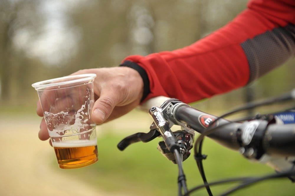 alcohol ciclismo